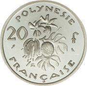20 Francs (Silver Piedfort) – reverse