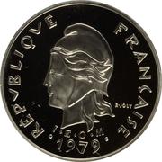 10 Francs (Piedfort) – obverse