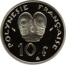 10 Francs (Piedfort) – reverse