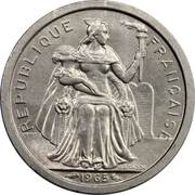 1 Franc (without IEOM) -  obverse