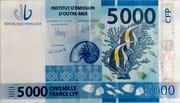 5,000 Francs CFP – obverse