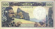 500 Francs – reverse