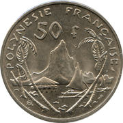 50 Francs (without IEOM) – reverse