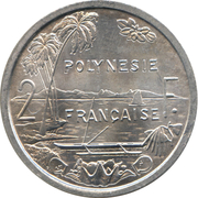 2 Francs (without IEOM) – reverse