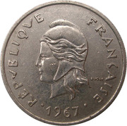 10 Francs (without IEOM) – obverse
