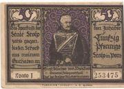 50 Pfennig (Stolp) – reverse