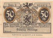 75 Pfennig (Belgard) – obverse