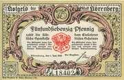 75 Pfennig (Nörenberg) – obverse