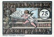 75 Pfennig (Freienwalde) – obverse