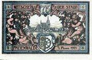75 Pfennig (Freienwalde) – reverse