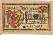 50 Pfennig (Freienwalde) – obverse