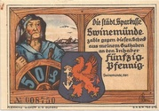 50 Pfennig (Swinemünde) – obverse