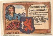 75 Pfennig (Swinemünde) – obverse