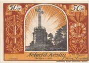 50 Pfennig (Köslin) – obverse