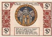 50 Pfennig (Köslin) – reverse