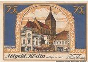 75 Pfennig (Köslin) – obverse