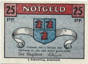 25 Pfennig (Pasewalk) – obverse