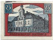 25 Pfennig (Pasewalk) – reverse