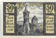 50 Pfennig (Pasewalk) – reverse