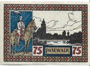 75 Pfennig (Pasewalk) – reverse