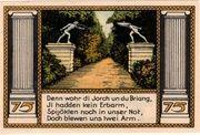 75 Pfennig (Putbus auf Rügen) – reverse