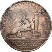 1 Thaler - Karl XII. – reverse