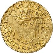 1 Ducat - Karl XI. – reverse