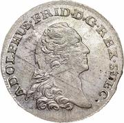 ⅙ Thaler - Adolf Frederick (Swedish occupation) – obverse