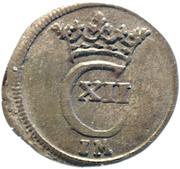 1 Witten - Karl XII. – obverse