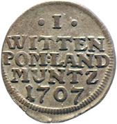 1 Witten - Karl XII. – reverse
