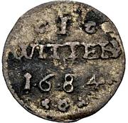 1 Witten - Karl XI. – reverse