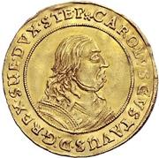 2 Ducat - Karl X. Gustav – obverse