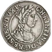 ½ Reichsort - Christina – obverse