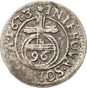 1 Sechsling - Karl XI. – reverse
