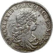 ⅓ Thaler - Karl XI. – obverse