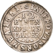 1/12 Thaler - Karl XI. – reverse