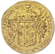 2 Ducat - Karl XI. – reverse
