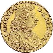 1 Ducat - Karl XI. – obverse