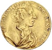 1 Ducat - Karl XII. – obverse