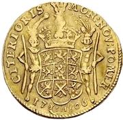 1 Ducat - Karl XII. – reverse