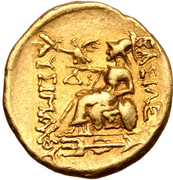 Stater - Mithridates VI Eupator (Istros) – reverse