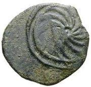 2½ Centesimae (Incuse series: spiral) – reverse