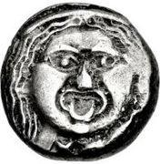 AR 20 Asses (Gorgoneion series II: kerykeia) -  obverse