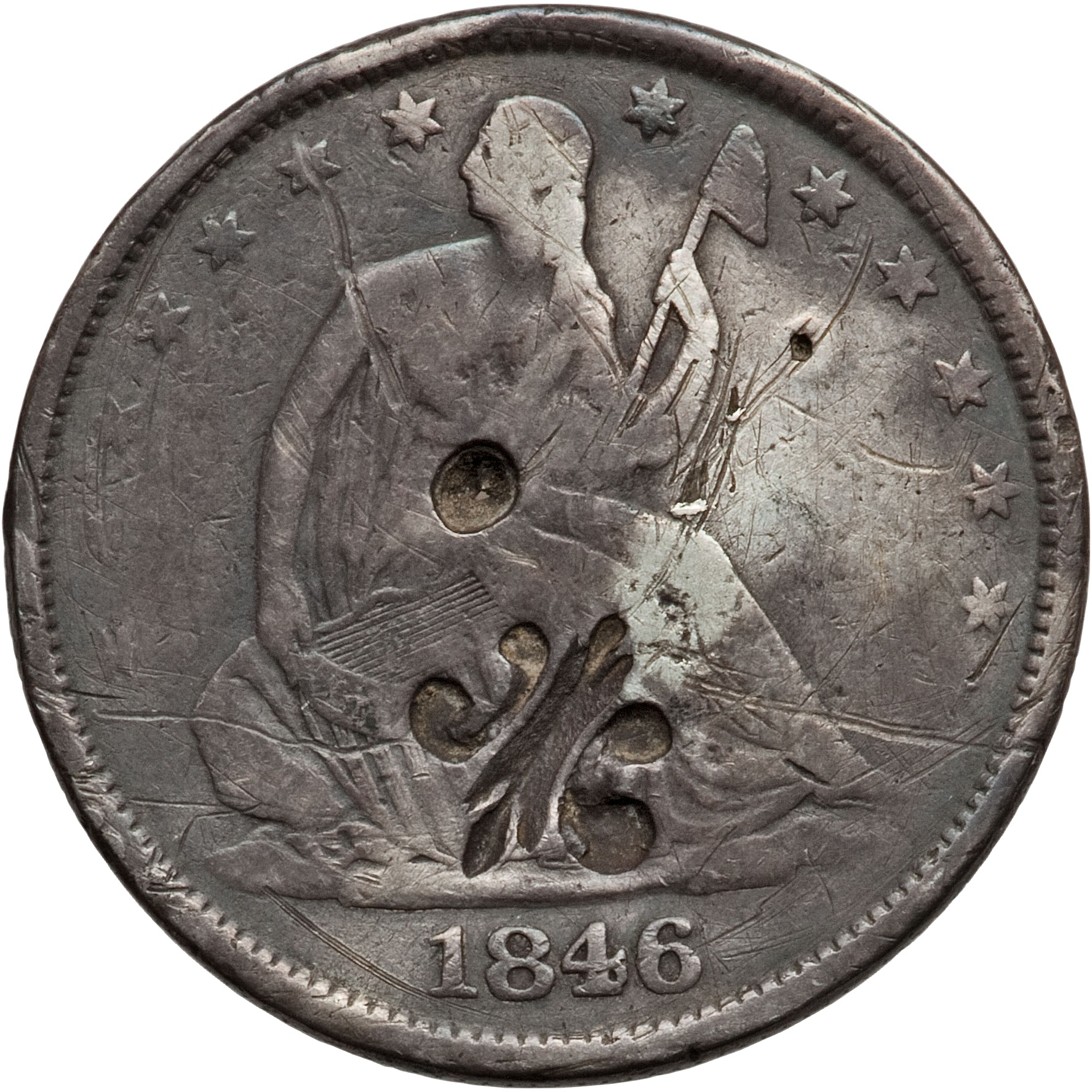 189 Dollar Counterstamped Puerto Rico Numista