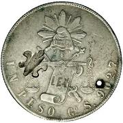 1 Dollar (Counterstamped) -  reverse