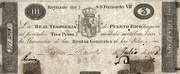 3 Pesos (Decrees of 3.9.1811 and 29.6.1813) – obverse