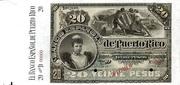 20 Pesos (Regent Queen Maria Cristina) -  obverse