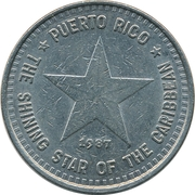 1 Dollar - The Tourism Company of Puerto Rico – reverse