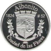 1 Peseta (Aibonito) – reverse