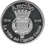 1 Peseta (Arecibo) – reverse